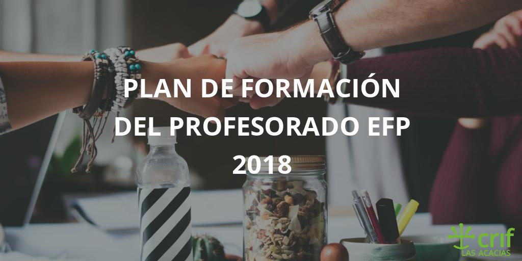 Imagen para el Plan de EFP 2018