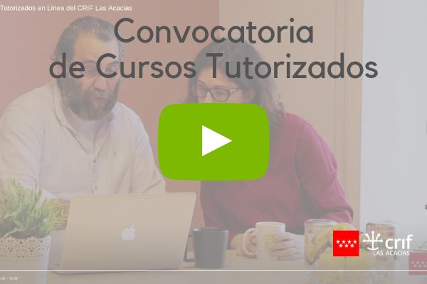 Vídeo de la convocatoria de Cursos en línea