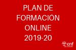 plan de formación online 2019-20
