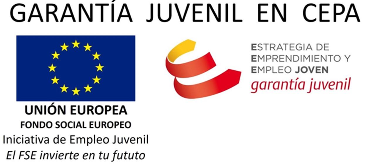 Logotipo de Garantía Juvenil