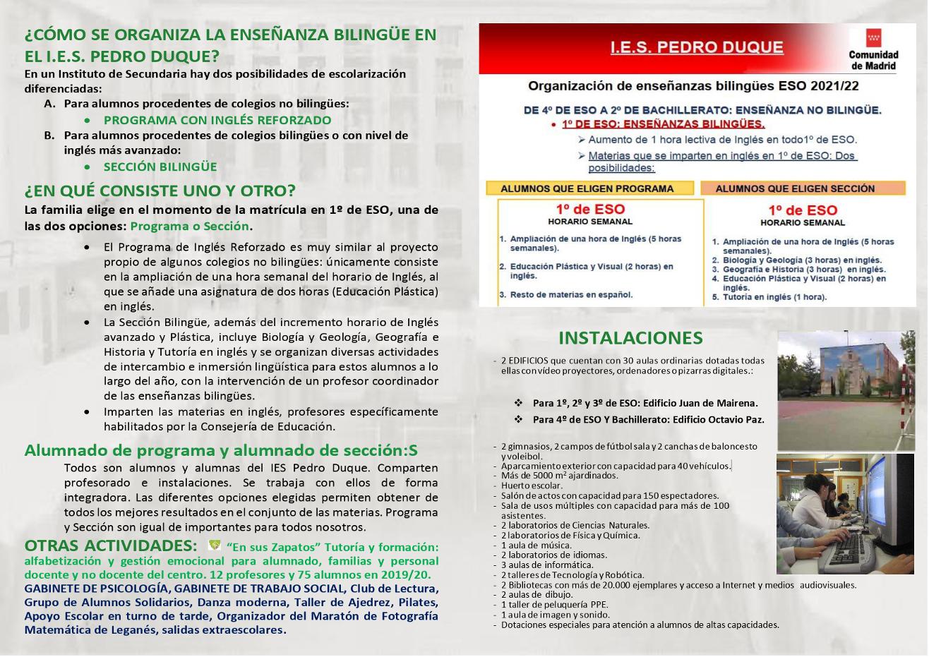 Díptico IES Pedro Duque 1