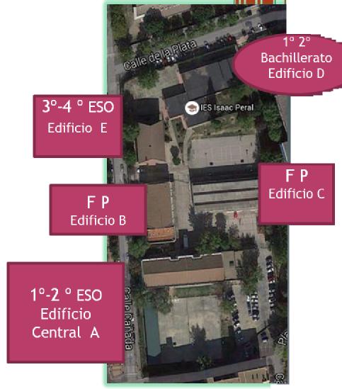 Vista Google del instituto