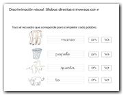 Sílabas directas / inversas con r
