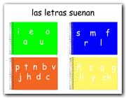 Las letras que suenan (JClic)
