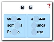 Palabras con br y bl (I)
