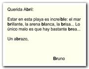 Palabras con br y bl (II)