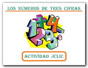 Números de 3 cifras (JClic)