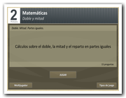 Test: doble y mitad