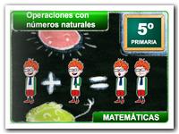 Operaciones con nº naturales (I)