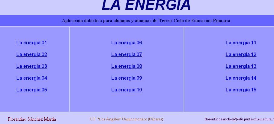 La energía VII