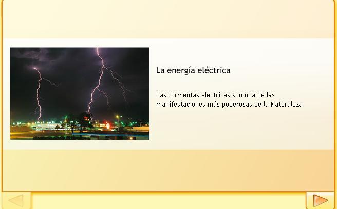 La energía eléctrica Santillana