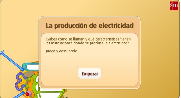 La producción de electricidad