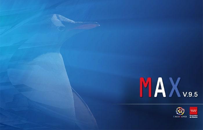 Escritorio de MAX 9.5, basada en Ubuntu 16.04