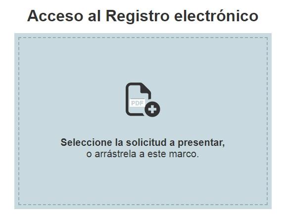 Acceso al Registro electrónico