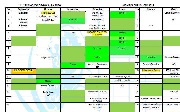 planing curso 2017-2018